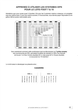 systèmes loto foot