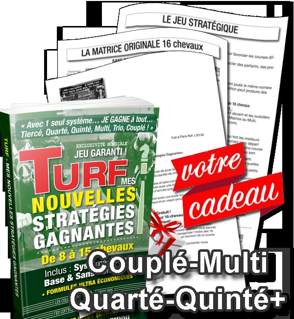 VOTRE CADEAU GRATUIT : LA MATRICE ORIGINALE 16 CHEVAUX + LE JEU STRATÉGIQUE